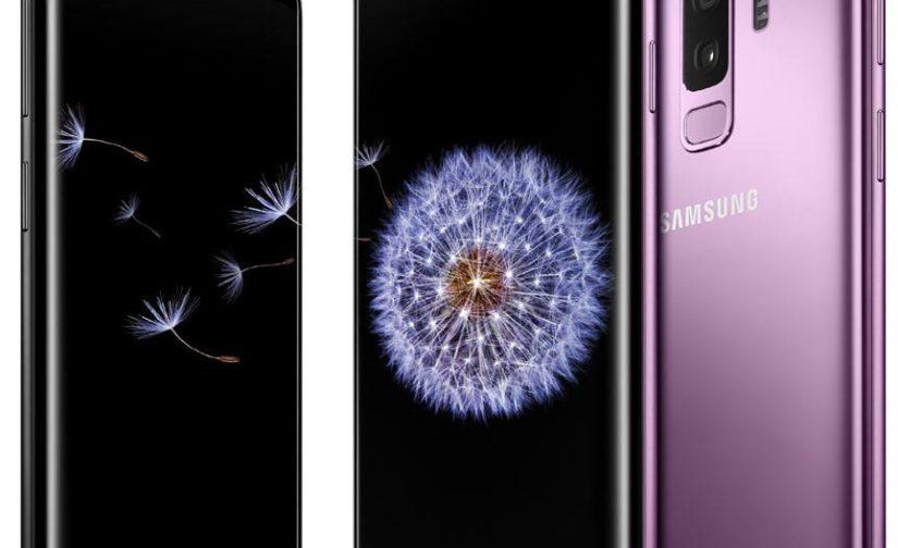 Le samsung galaxy S9 et S9 +