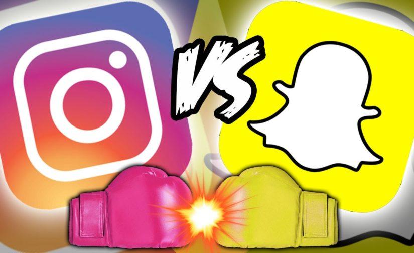 Snapchat Vs Instagram ? Une Histoire de Story !