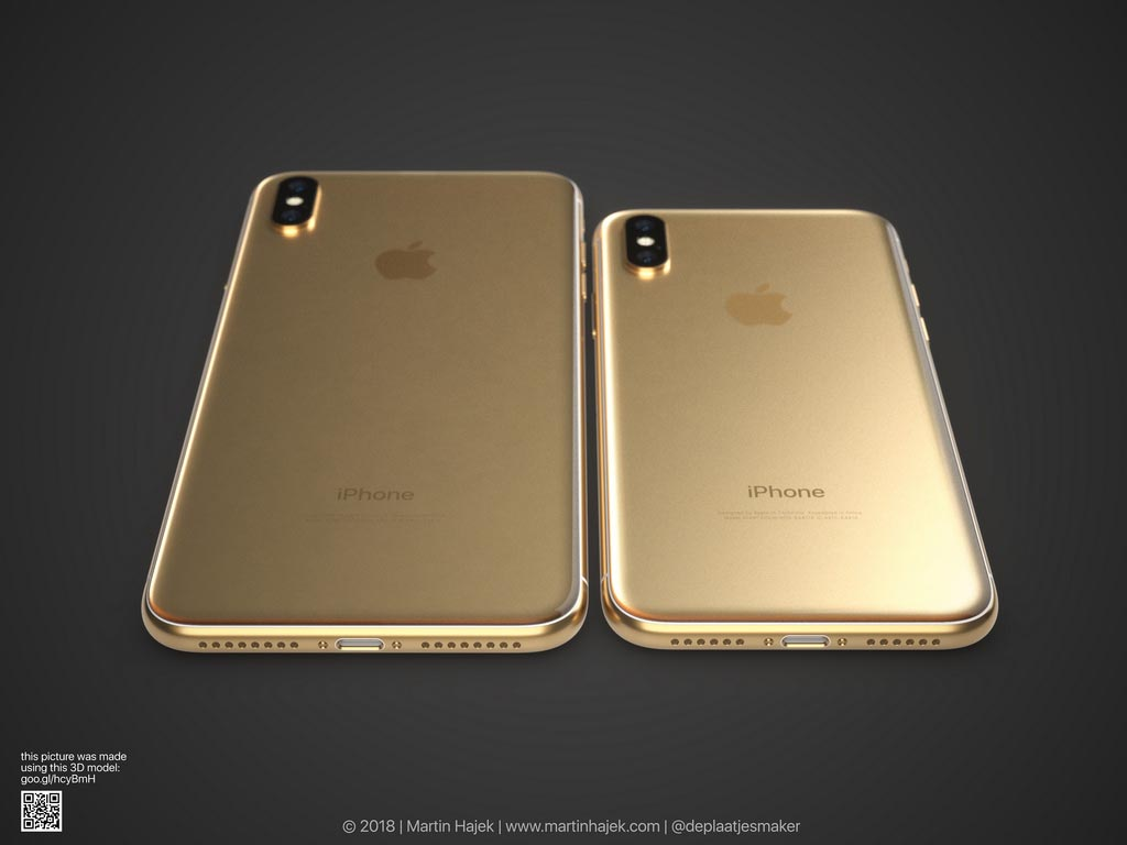 Un coloris doré pour l'iPhone X ?