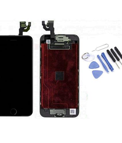 Ecran de remplacement + vitre tactile sur châssîs Tout Assemblé complet pour iPhone 6 + Kit 9 OUTILS