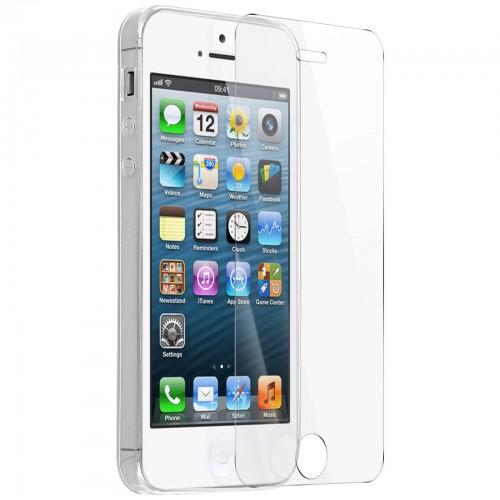 Verres trempées pour iPhone 5-5S-5C-SE