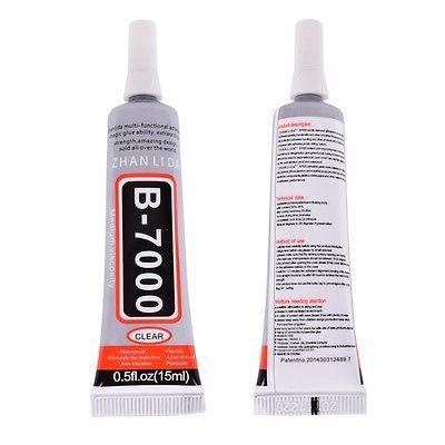 1 piece-Colle-Glue-Adhésif-B-7000-15Ml-Pour-reparation smartphone-atelier du mobile-image