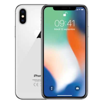 Smartphone-apple-iphone-x-64go-Argent