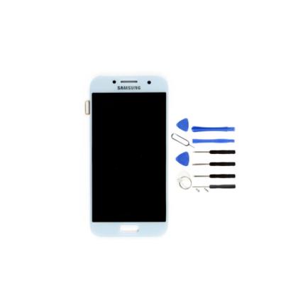 ecran-pour-samsung-galaxy-a32017-bleu
