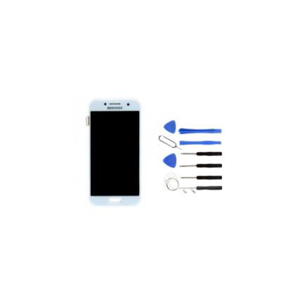 ecran-pour-samsung-galaxy-a7-2017-bleu